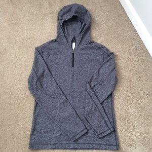 Lululemon 1/4 Zip With Hood